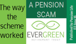 evergreen a stephen ward pension scam