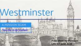 ANOTHER Scam Pension Scheme Westminster