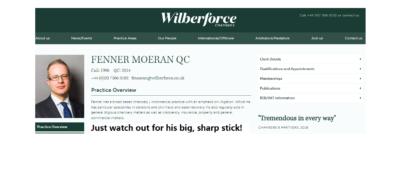 Fenner Moeran of Wilberforce Chambers represented Dalriada Trustees in the Ark case