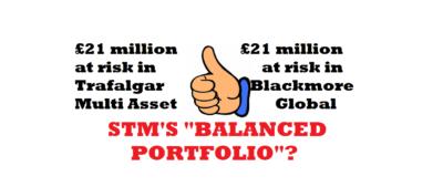 STM's balanced portfolio of toxic investment scams - Trafalgar Multi Asset and Blackmore Global
