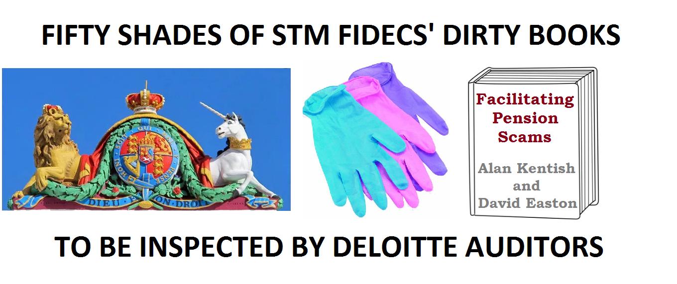 STM Fidecs' Alan Kentish and David Easton avoided the humiliation of a public court appearance and will now be letting Deloitte inspect their dirty books.