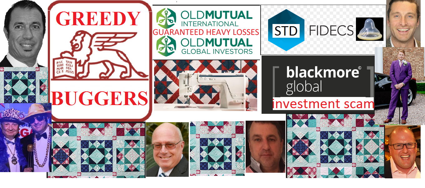 Quilter - Old Mutual International - new name to try to hide past crimes