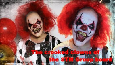 Pension Life Blog - The crooked clowns of the STM Group board - Alan Kentish - reports record profits for 2017 - no mention of the Trafalgar Multi Assett Fund pension scam