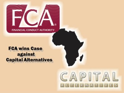"""Pension Life Blog - FCA wins case against Capital Alternatives who used """"false, misleading and deceptive statements."""" to lure unsuspecting investors into four toxic, high risk investments (scams) between 2009 and 2013."""