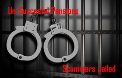 Pension Life blog - Pension Liberation scammers of Successful Pensions - Jailed