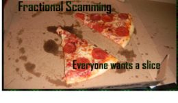 Pension Life Blog - Fraction scamming - the trending pension scam - everyone wants a slice