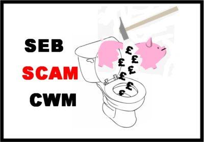 Pension Life blog - SEB and CWM pension scam - SEB - destroying life´s savings