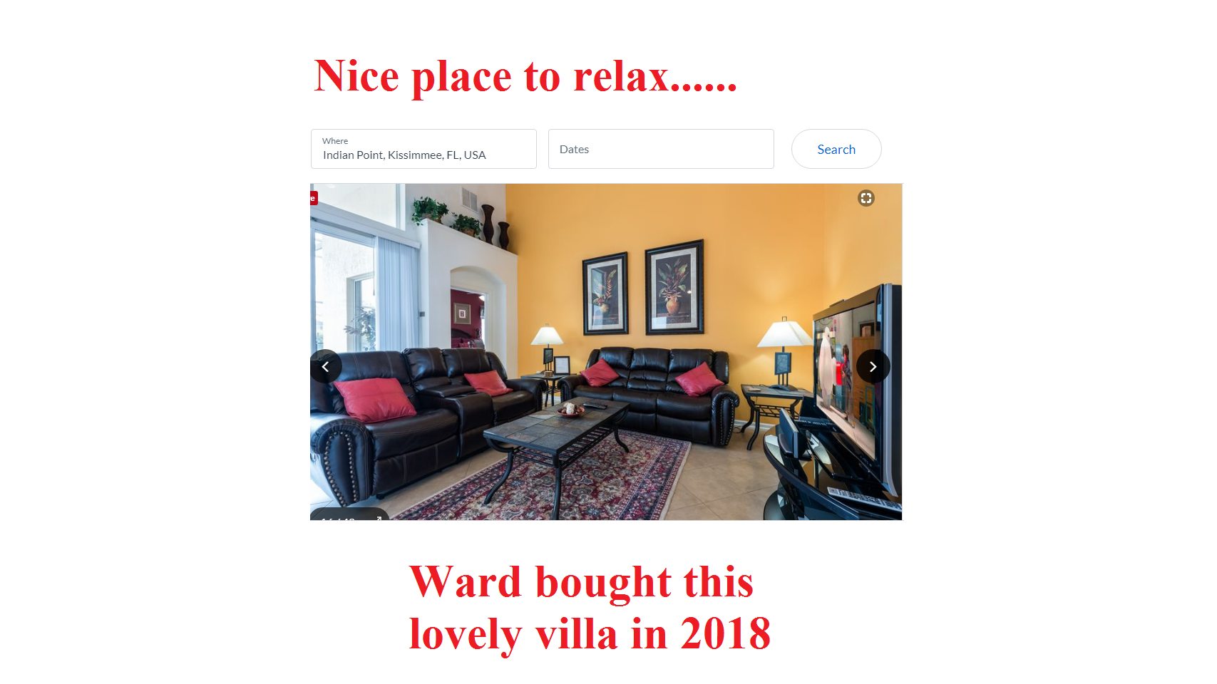 Pension Life Blog - Mastermind - Stephen Ward has a new villa (as well as the 10 others) which he bought in 2018
