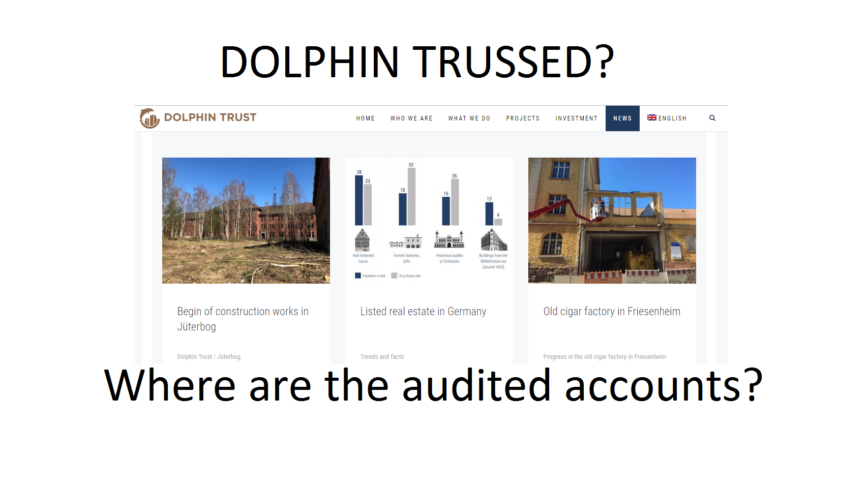 Pension Life Blog - Trussed by Dolphin Trust? - Dolphin Turust - trafalgar multi asset fund