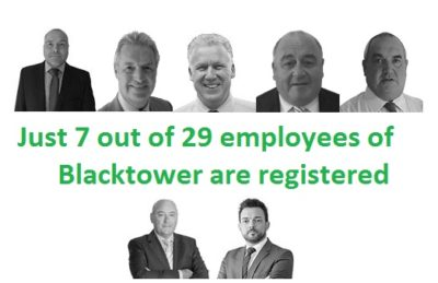 Blacktower Spain - Qualified and Registered?