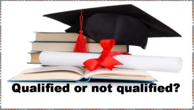 Pension Life Blog - Qualified or not qualified? that is the question. Qualified Financial Adviser