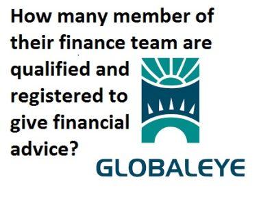 Globaleye dubai - qualified and registered?