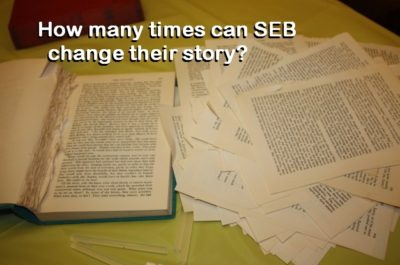 Pension Life Blog - SEB Life´s Complaint - SEB life - SEB keep changing their story
