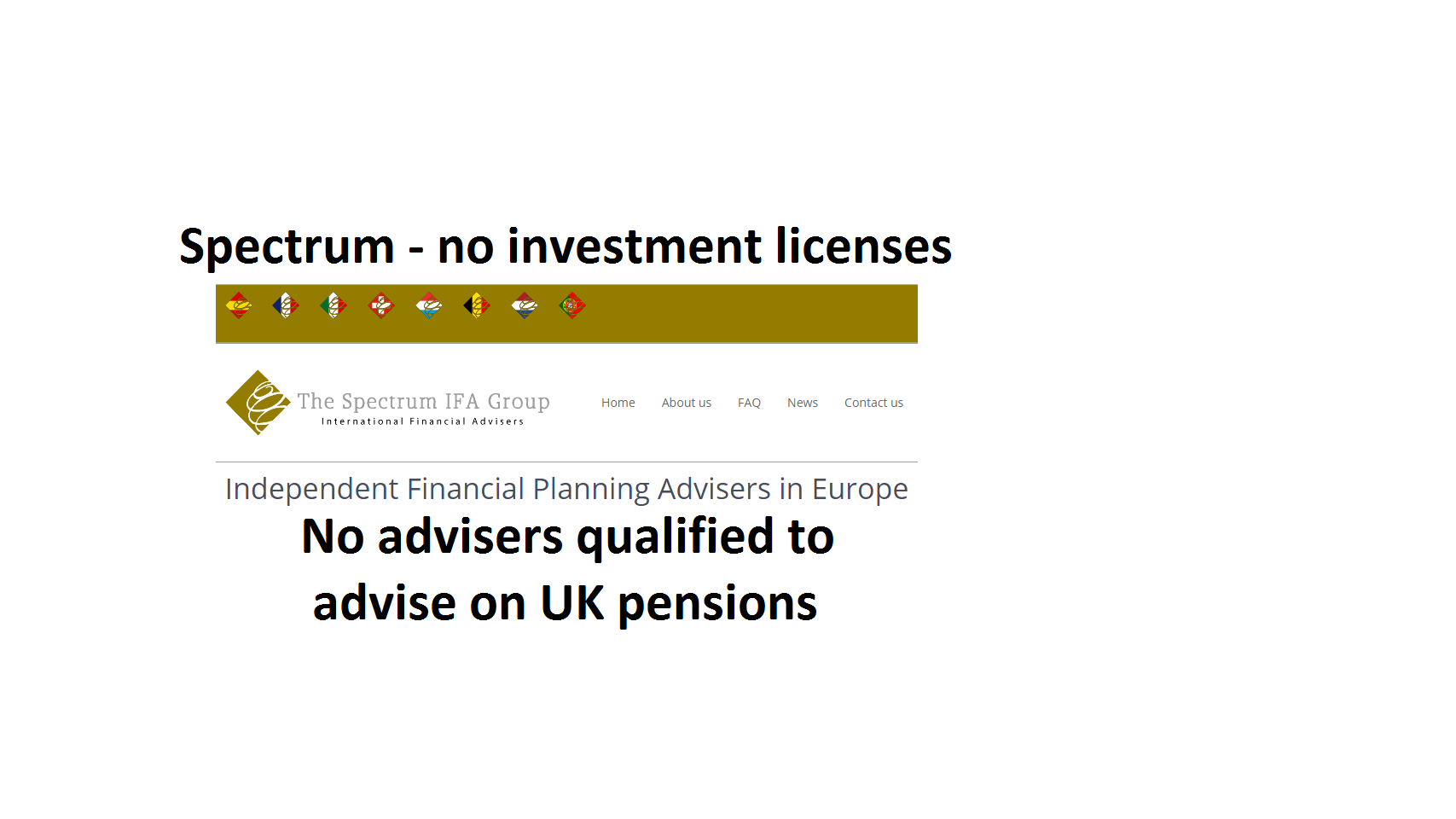Pension Life Blog - Spectrum IFA Group - qualified and registered?
