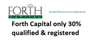 Pension Life Blog - Forth Capital - qualified & registered?