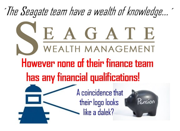 Pension -life Blog - Seagate Wealth Management Spain - qualified and registered?