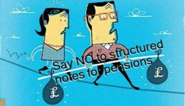 Pension Life Blog - Say no to structured notes for pensions what is a structured notes - knowing the risks