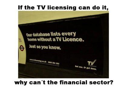 Pension Life Blog - TV licence enforcement - unlicensed advisers