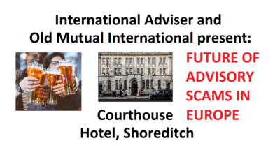 International Adviser and the Old Mutual International/Quilter Scams