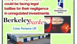 Pension Life Blog - Shaping the future of mis-sold SIPPS - Berkeley Burke and Carey Pensions FOS