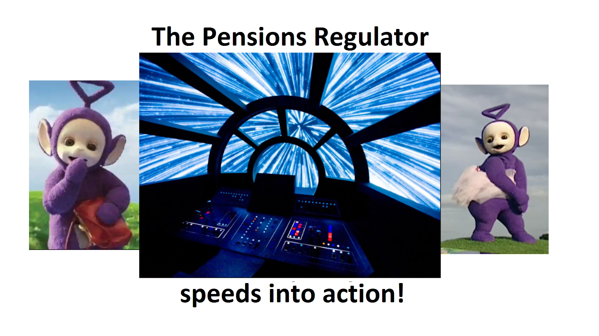Pensions Regulator - Light Speed with Gleeson Bessent Trustees