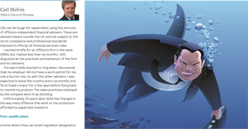 Pension Life Blog - Guest blog - A new model challenge to the offshore sharks - Carl Melvin