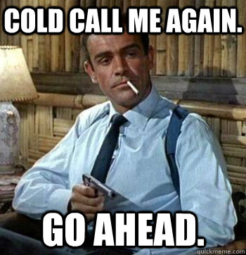 Pension Life Blog - colled calling still not banned