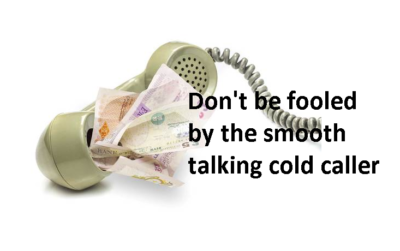 Pension Life blog - Cold calling