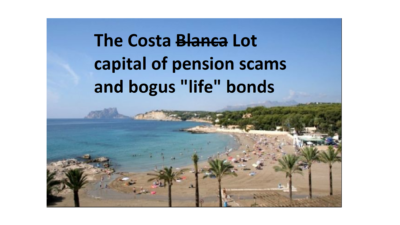 No more bogus life assurance policies in Spain