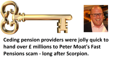 Time for all pension providers to wake up and stop pension scams