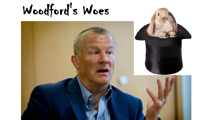 Neil Woodford may have serious woes because of his suspended fund, but maybe he will still pull a fluffy bunny out of the hat?