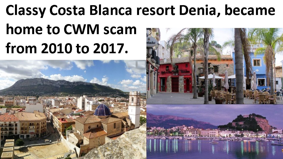 Scammers at CWM destroyed 1,000 victims' life savings totaling £100 million. CWM was shut down in 2017 when the scale of their crimes became too embarrassing for OMI, SEB and Generali to tolerate any longer.