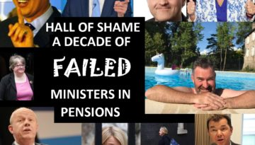 Hopeless, lazy and inept pensions ministers have failed to tackle pension scams for a decade