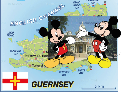 Mickey Mouse Incestuous Jurisdiction of Guernsey