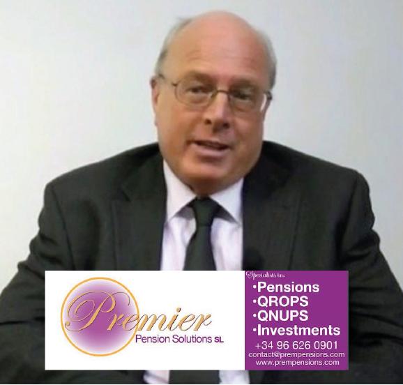 Stephen Ward of Premier Pension Solutions